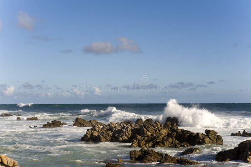 Capo Agulhas, Sudafrica immagine stock