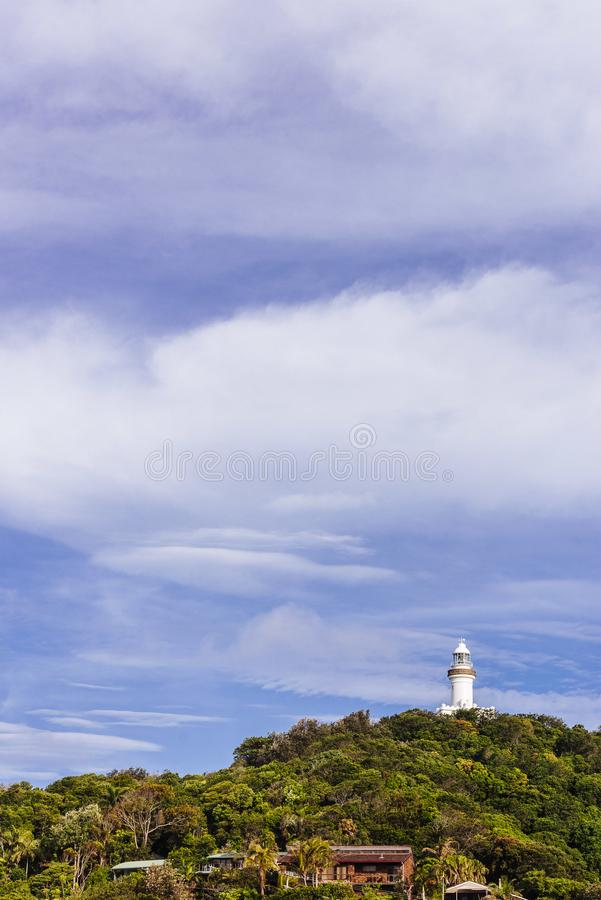 Capo Byron Lighthouse, Byron Bay immagini stock