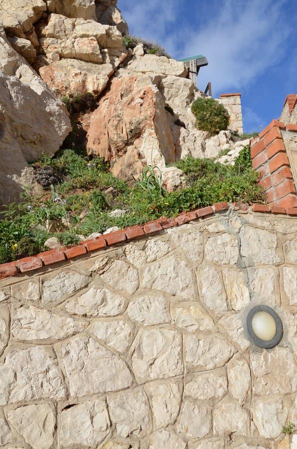 Capo Caccia près d'Alghero, Sardaigne, Italie image stock