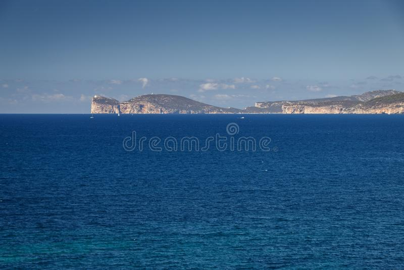 Capo Caccia, Sardinia fotos de stock