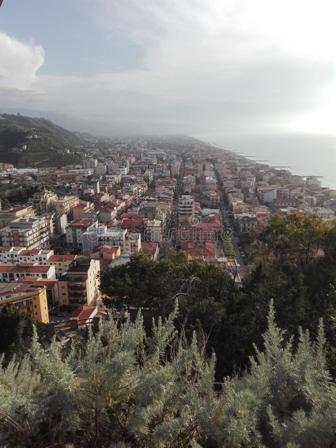 Capo d& x27;Orlando is a fantastic small city in Sicily it is perfect to pass holiday with family or friend. royalty free stock photography