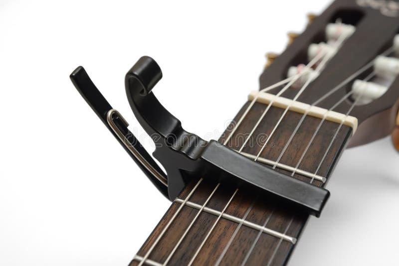 Capo della chitarra immagine stock