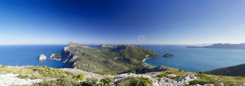 Capo di Formentor in majorca, Balearic Island immagini stock