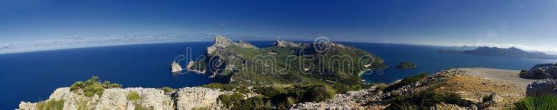 Capo di Formentor in majorca, Balearic Island fotografie stock