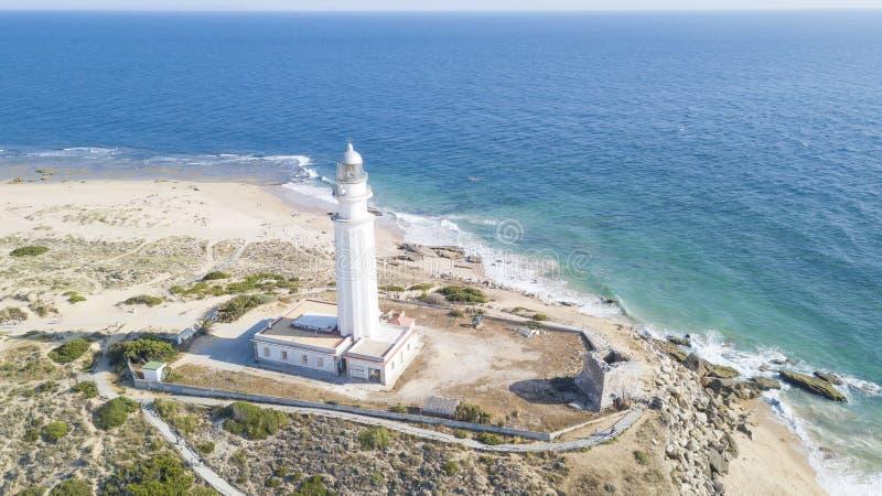 Capo di Trafalgar, Costa de la Luz, Andalusia, Spagna fotografie stock libere da diritti