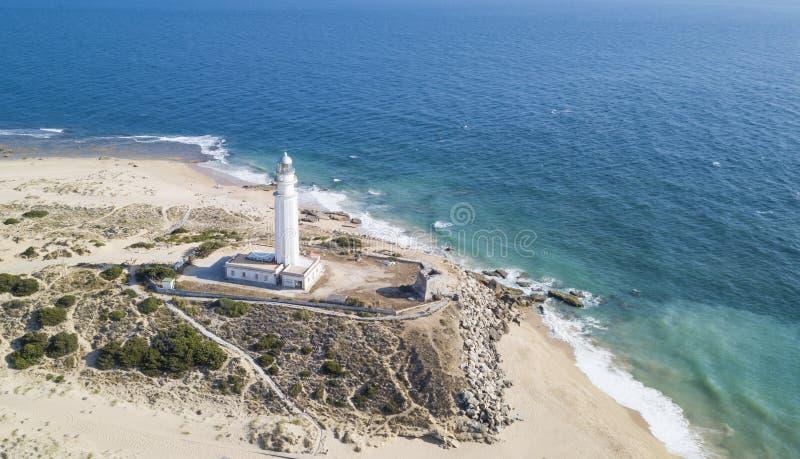 Capo di Trafalgar, Costa de la Luz, Andalusia, Spagna immagini stock libere da diritti