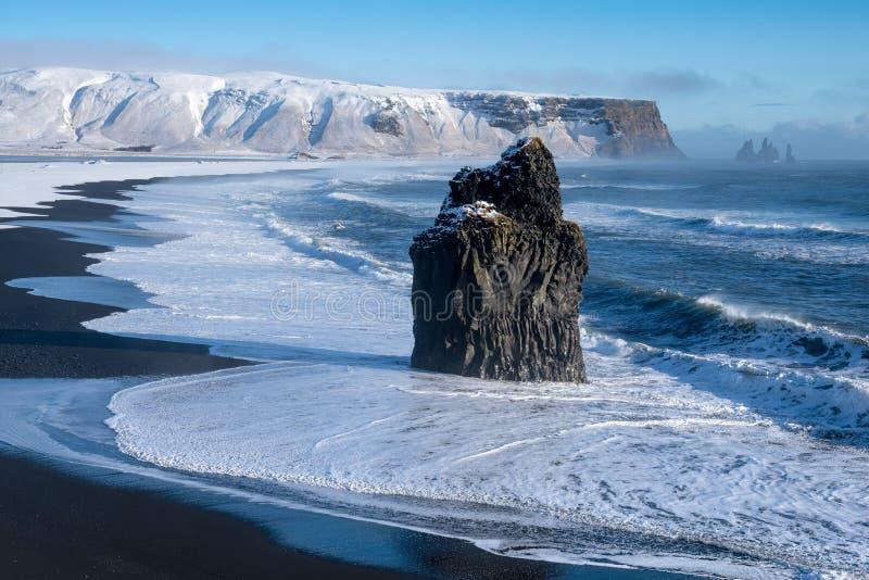 Capo Dyrholaey, Islanda fotografia stock
