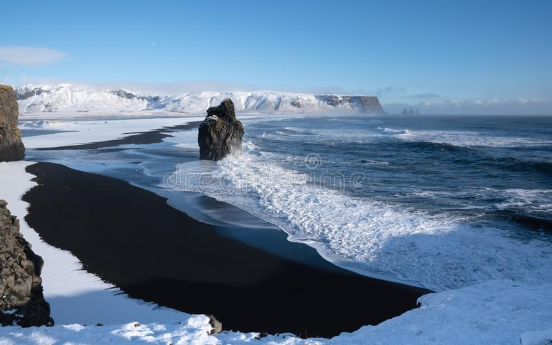 Capo Dyrholaey, Islanda fotografie stock libere da diritti