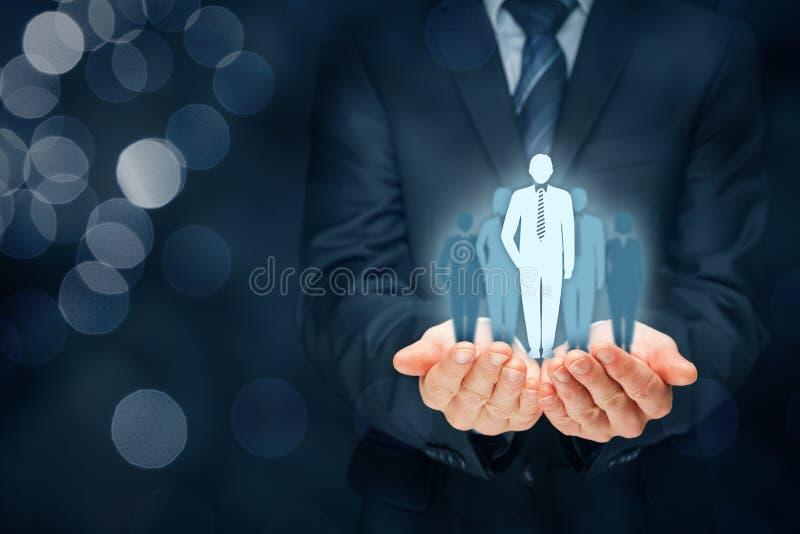 Capo e CEO immagini stock