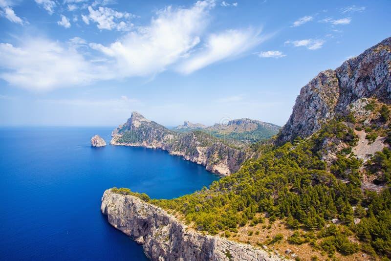 Capo Formentor, Mallorca immagini stock