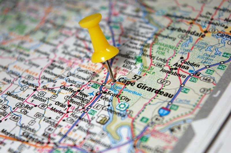 Capo Girardeau, Missouri fotografia stock libera da diritti