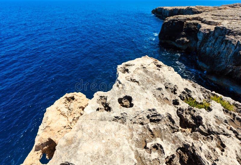 Capo Murro di Porco, Syracuse, Sicile, Italie photos libres de droits