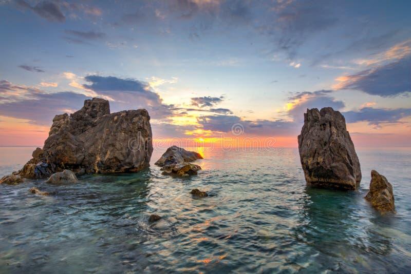 Capo Rasocolmo, Włochy obrazy royalty free