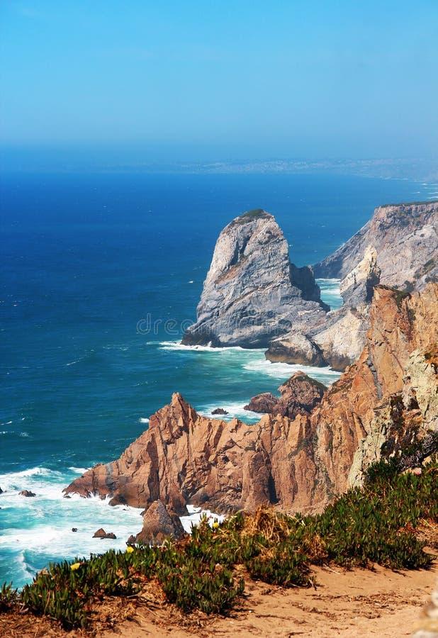 Capo Roca, Portogallo fotografia stock libera da diritti