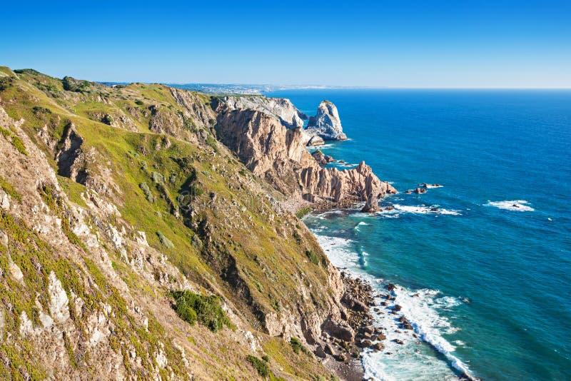 Capo Roca, Portogallo fotografie stock