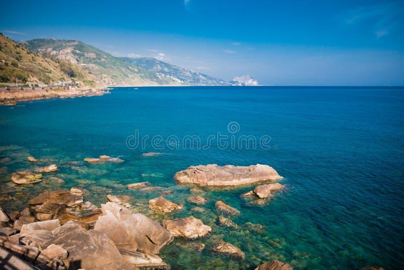 Capo Tindari, Sicile images libres de droits