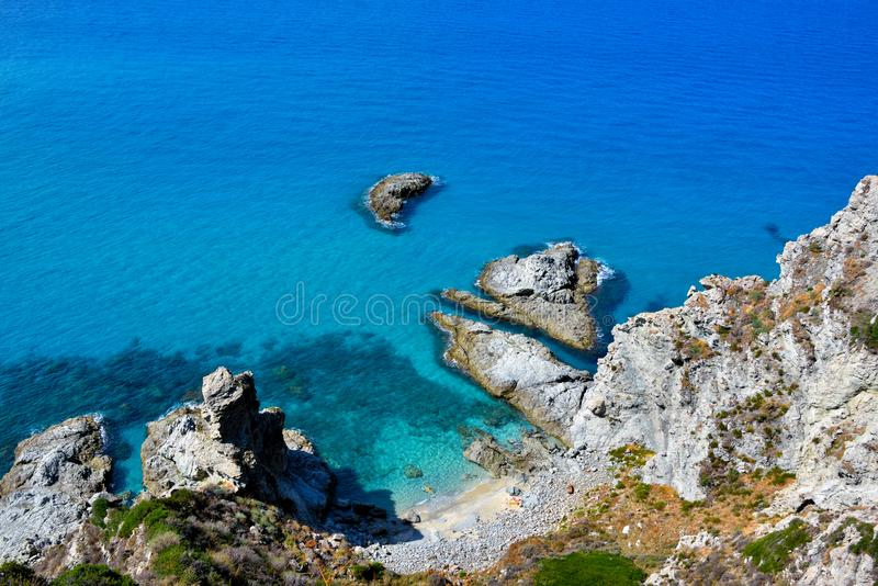 Capo Vaticano Italie photo stock