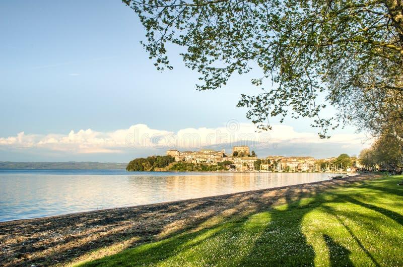 Capodimonte - Bolsena Lake - Viterbo - Lazio - Italy.  royalty free stock image