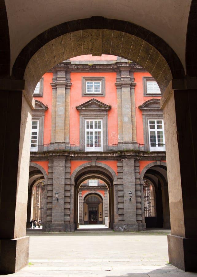 capodimonte di palazzo reale royaltyfria foton