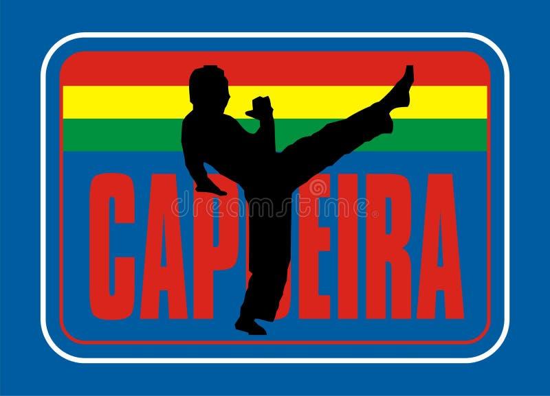 Capoeira stock de ilustración