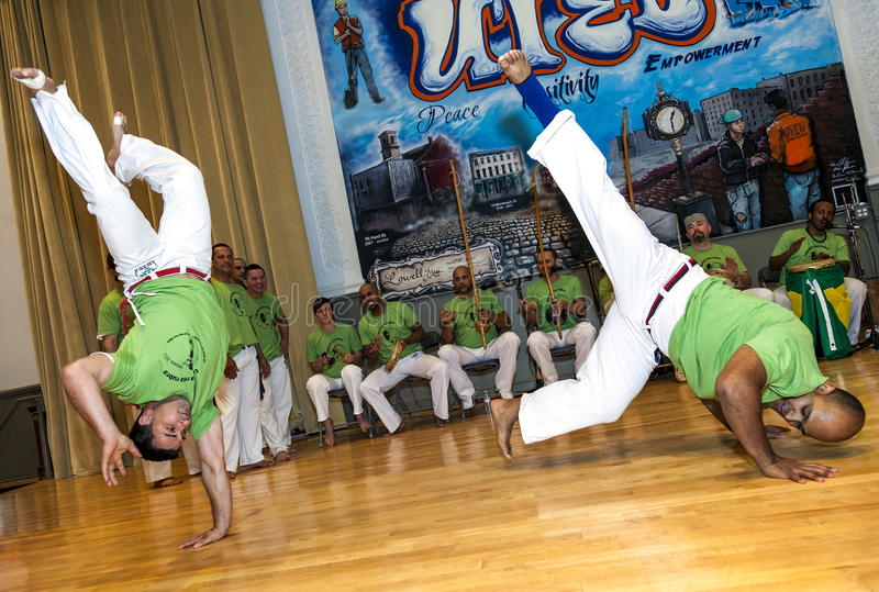 Capoeira fotografia royalty free