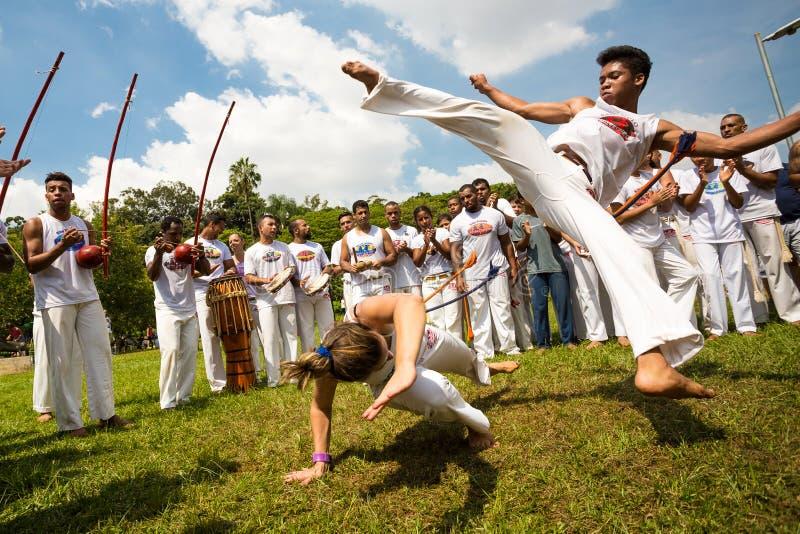 Capoeira stock foto