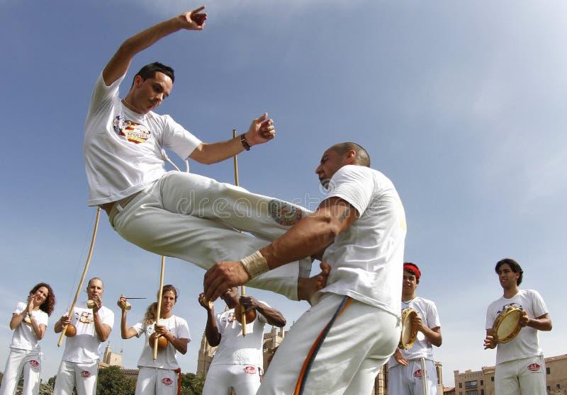 Capoeira 012 fotografia royalty free