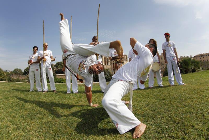 Capoeira 037 imagem de stock