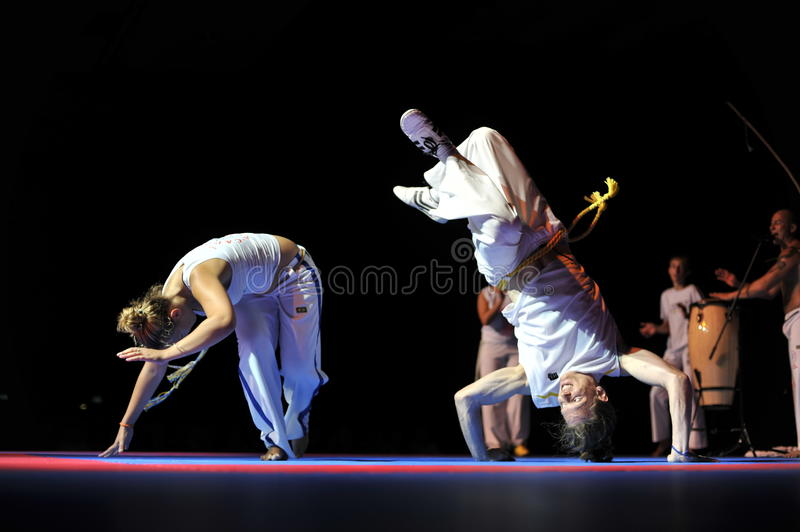 Download Capoeira Performance editorial stock photo. Image of handsome - 15506423