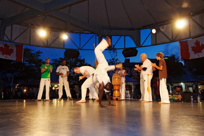 Download Capoeira Performance Editorial Stock Photo - Image: 31995743