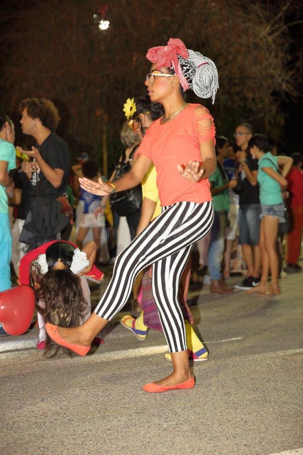 Capoeira-Tanz und Kampfkunstfestival in Petrolina Brasilien stockfotos