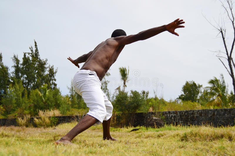 Capoeira royalty free stock images