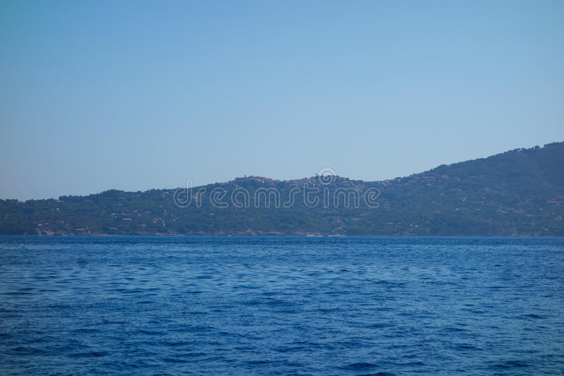 Capoliveri en Elba Island images stock