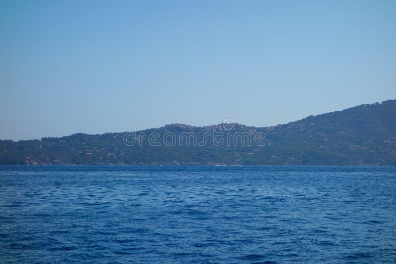 Capoliveri w Elba wyspie obrazy stock