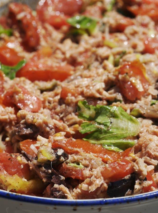 Caponata - piatto italiano immagine stock
