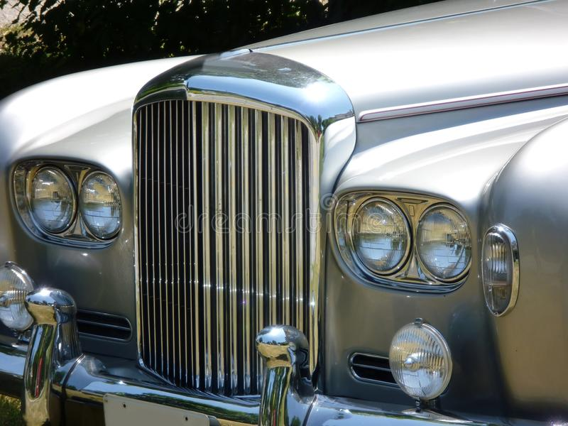Capot de luxe anglais de véhicule images stock