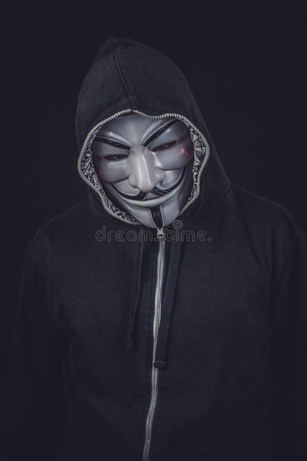 Capot, survêtement, masque, masque photos libres de droits