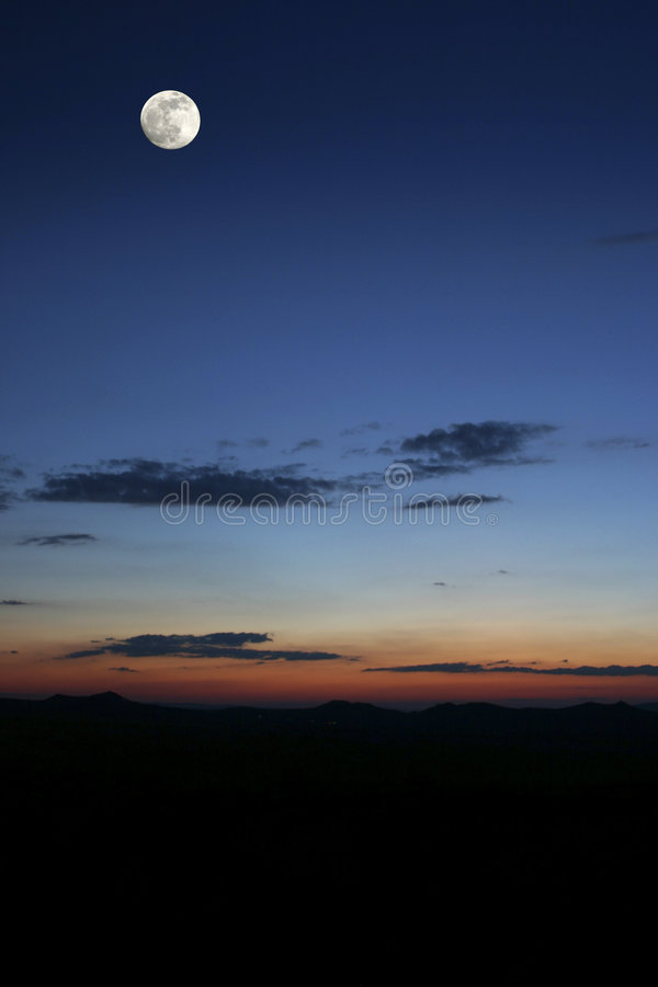 Cappadoccia Nacht stockfoto