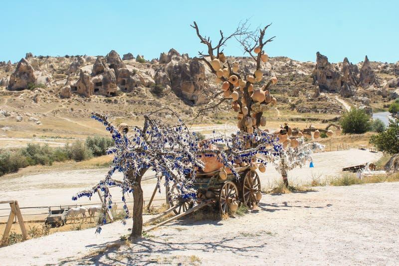 Cappadocia在土耳其 免版税库存图片