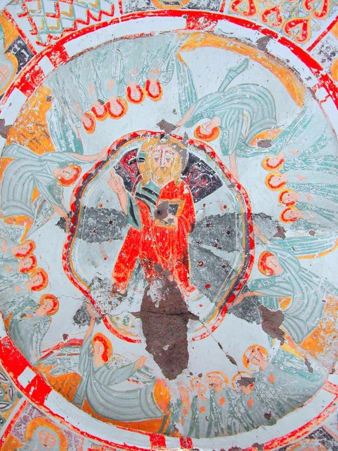cappadocia基督徒肖象画法 免版税库存图片