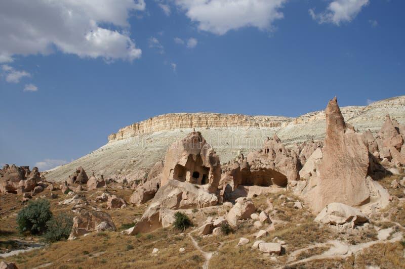 cappadocia横向 库存照片