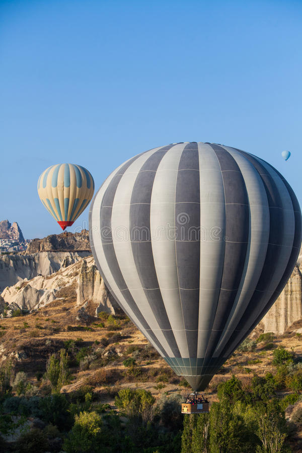 cappadocia μπαλονιών αέρα καυτό στοκ φωτογραφία με δικαίωμα ελεύθερης χρήσης