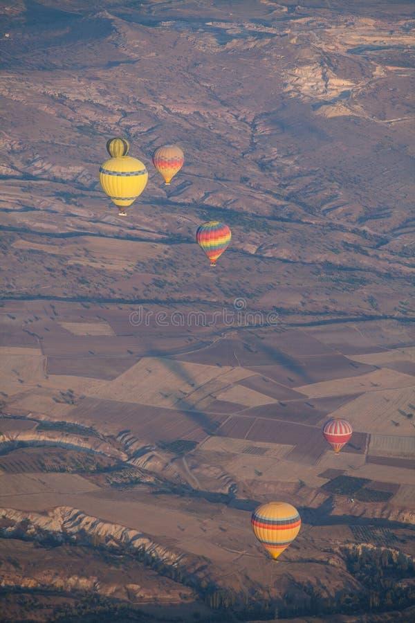 cappadocia μπαλονιών αέρα καυτό στοκ εικόνες με δικαίωμα ελεύθερης χρήσης