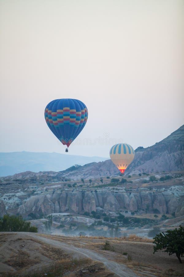 cappadocia μπαλονιών αέρα καυτό στοκ φωτογραφίες με δικαίωμα ελεύθερης χρήσης