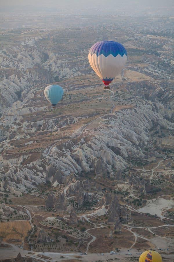 cappadocia μπαλονιών αέρα καυτό στοκ φωτογραφίες