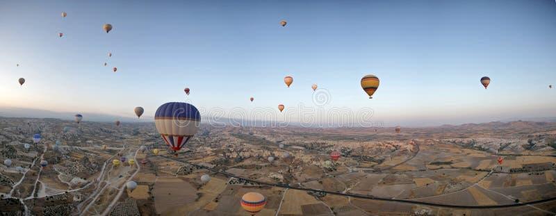 cappadocia μπαλονιών αέρα καυτό στοκ φωτογραφία