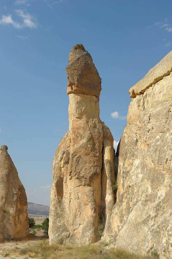 Cappadocia στην Τουρκία στοκ εικόνες