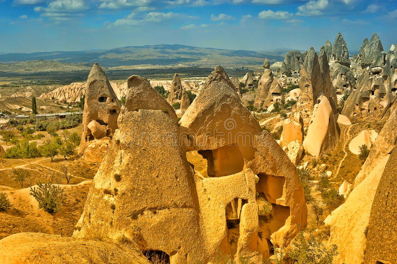 Cappadocia, Τουρκία στοκ φωτογραφίες με δικαίωμα ελεύθερης χρήσης