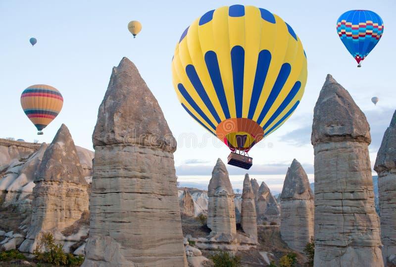 Cappadocia, центральная Анатолия, Турция стоковые изображения rf