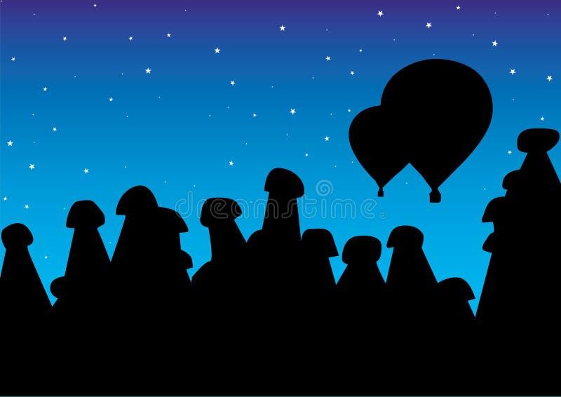 cappadocia royalty ilustracja